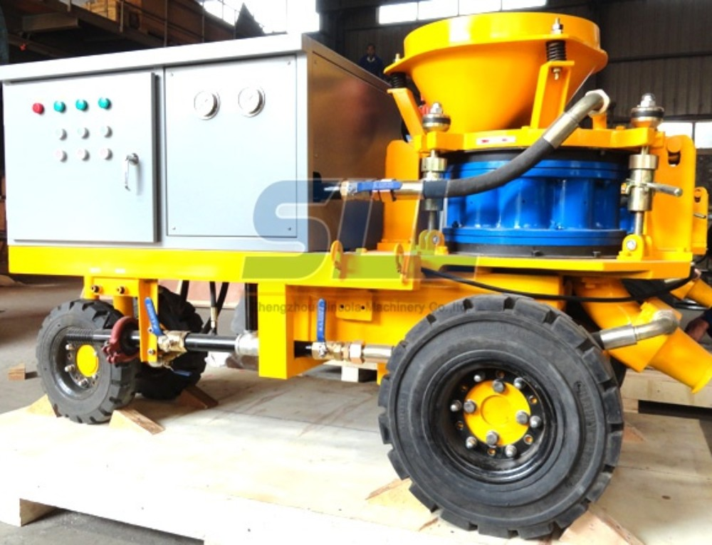 Wet Shotcrete Machine Working Principle And Advantages