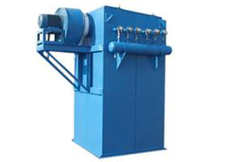 Dust collector internal structure