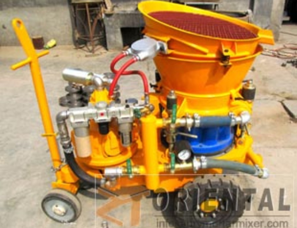 Dry Mixer Shotcrete Machine for Swimming Pools