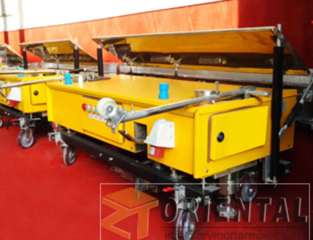 Automatic Rendering Machine