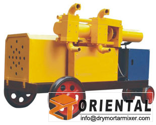 Double hydraulic Grouting Pump