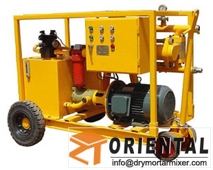 Full Injection Hydraulic Grouting Pump