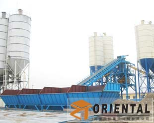 Hzs60 Concrete mix plant
