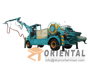 shotcrete machine for tunnel