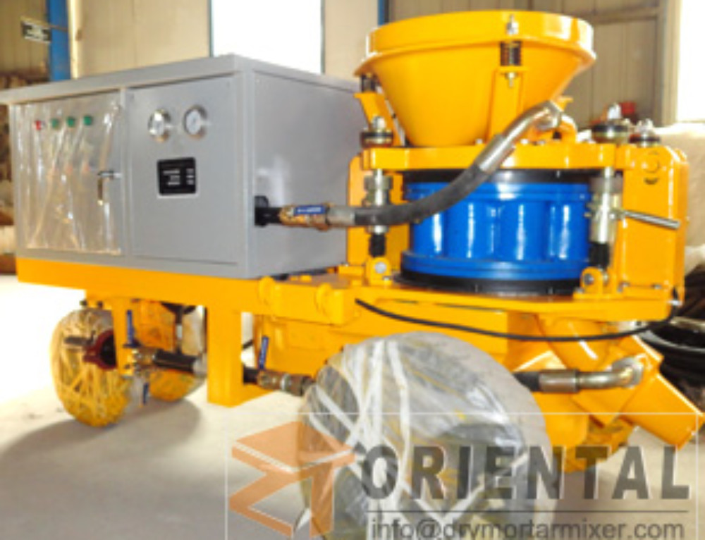 Wet Shotcreting Method Gunite Machine Philippines