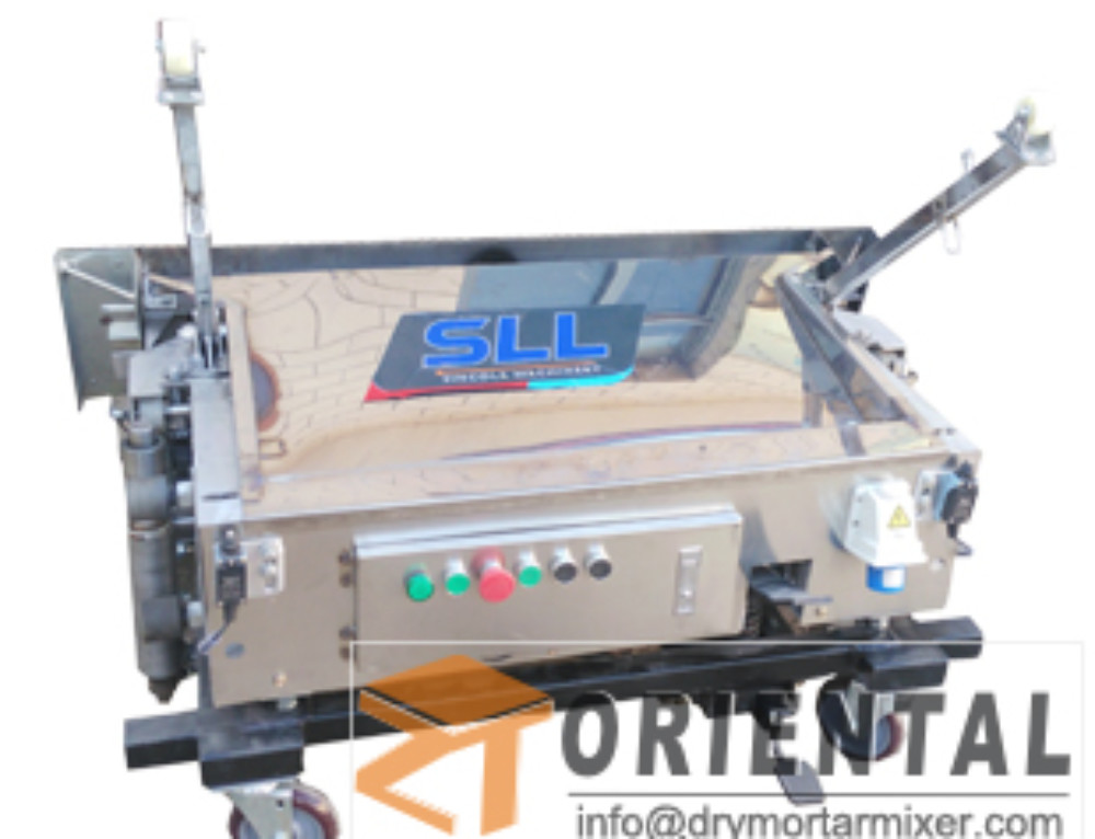 ORM8 wall plaster machine