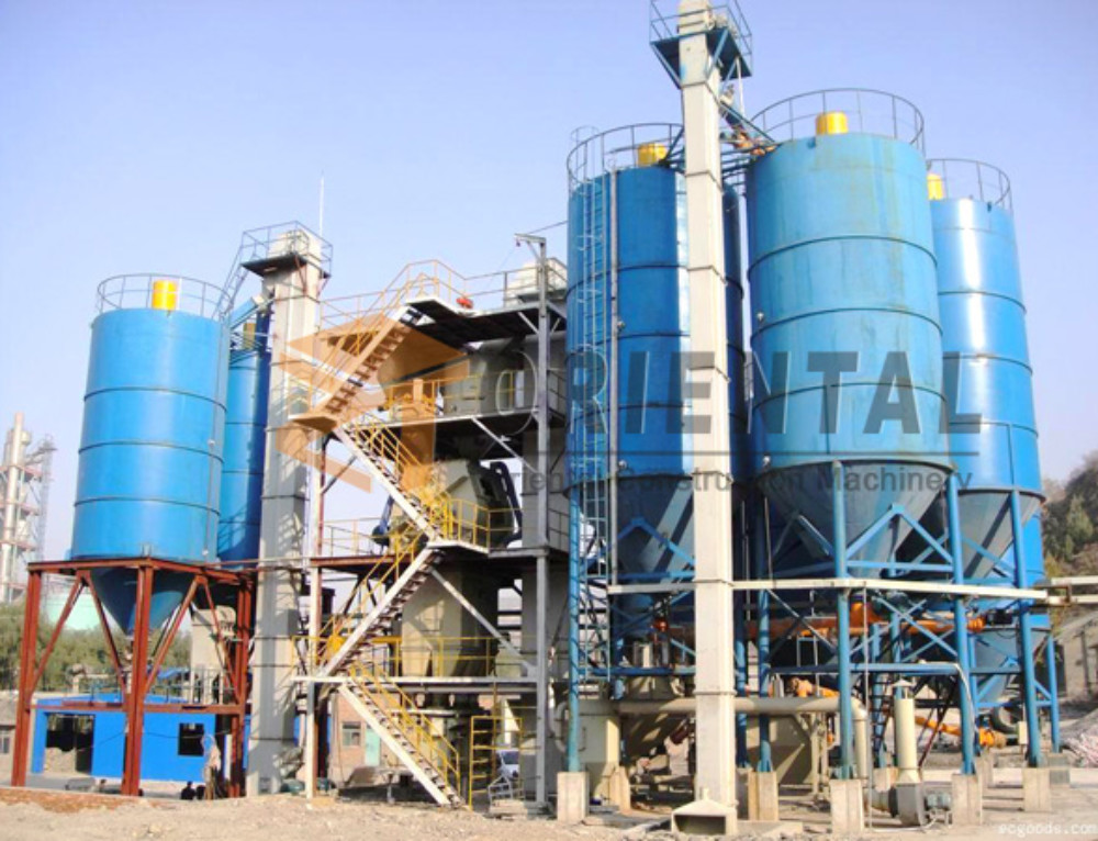 Full Autamatic Tower Dry Mortar Plant