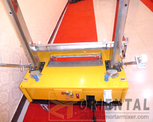 ORM6 wall plaster machine