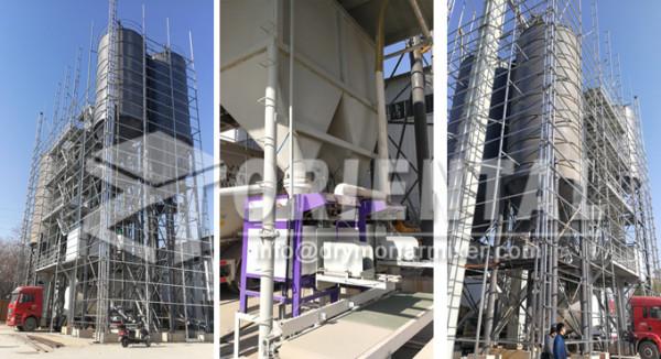 100tph-Tile-adhesive-mortar-mixer