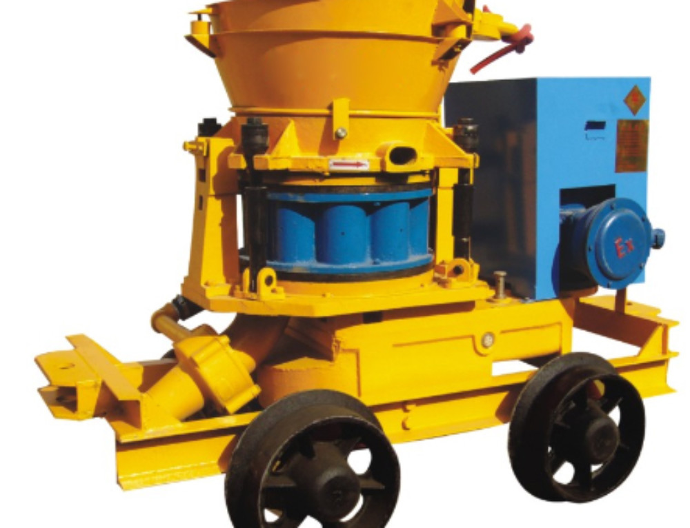Shotcrete Machine And Concrete Jet Manipulator