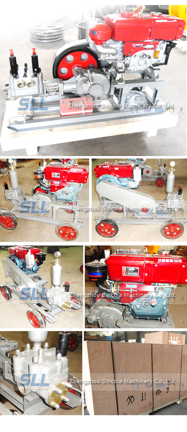 grouting methods and equipment