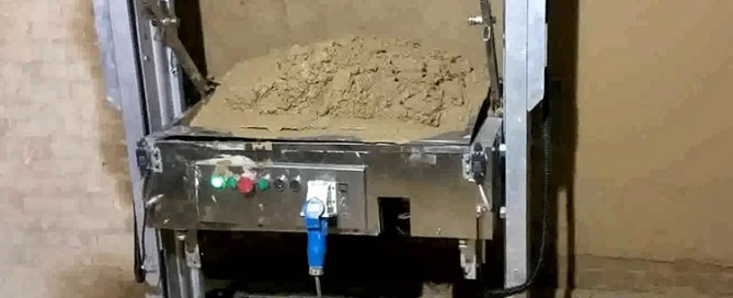 cement plaster machine