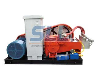 High pressure cement mortar grouting pumps