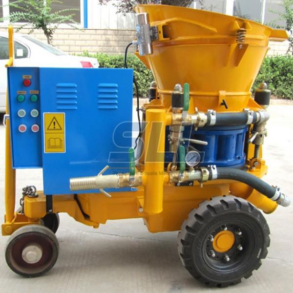 dry shotcrete machine