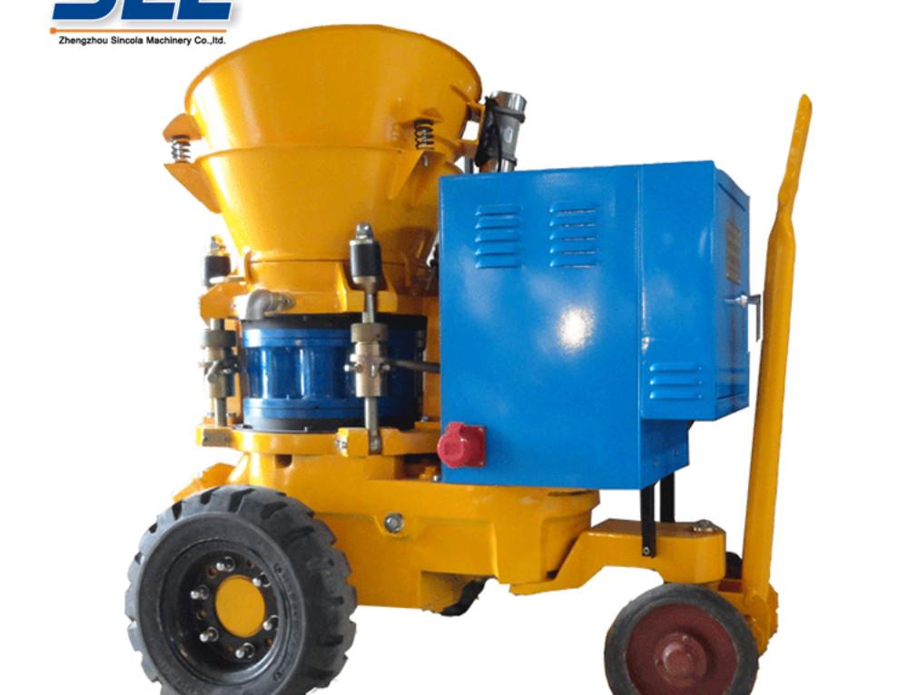 Operation Safety Index of Dry Shotcrete Machine