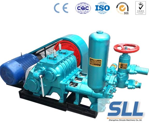 three-cylinder grouting pump